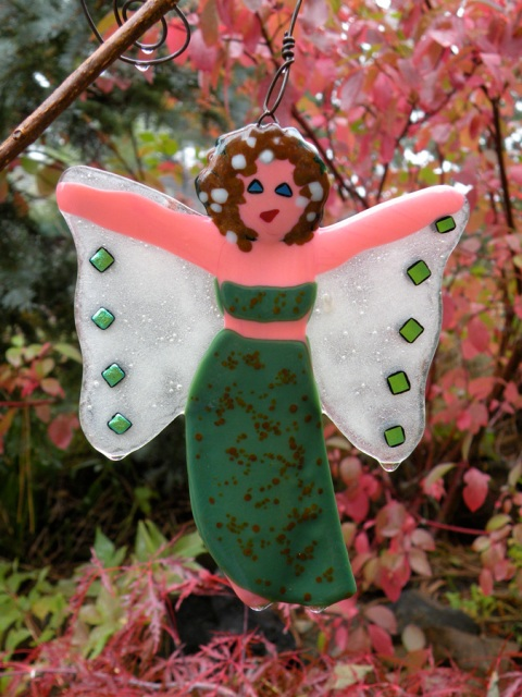 Green Goddess?  Another Garden Fairy hanging about!