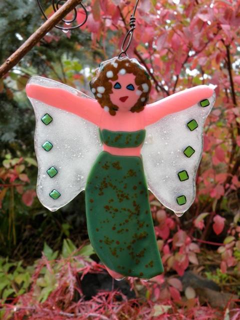 Green Goddess?  Another Garden Fairy hanging about!