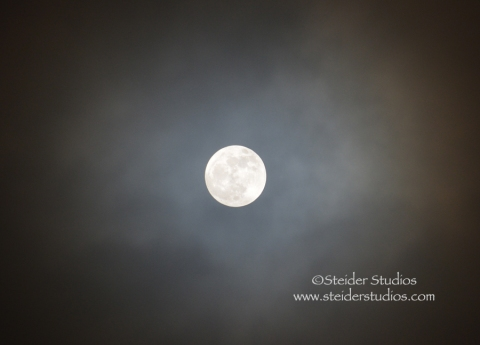 Steider Studios:  Full Moon 12.27.12