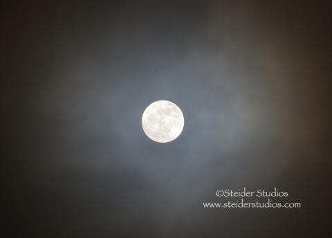 Steider Studios:  Full Moon 12.27.12