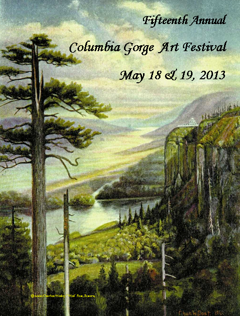 Columbia Gorge Art Festival in Corbett Oregon