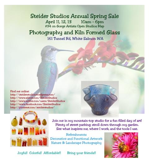 Steider Studios Annual Studio Sale 2014